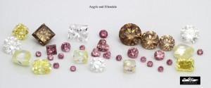 australian diamond colours